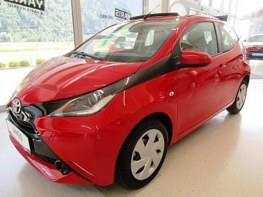 """Toyota Aygo 1,0 VVT-i """"OPEN-AIR"""" bei Auto Bacher GmbH in"""